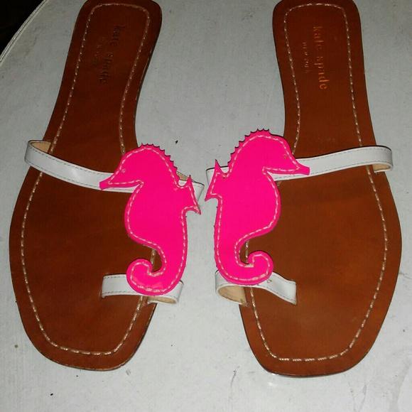 4e99d8b05 kate spade Shoes - Kate Spade Pink Seahorse Sandal size 6